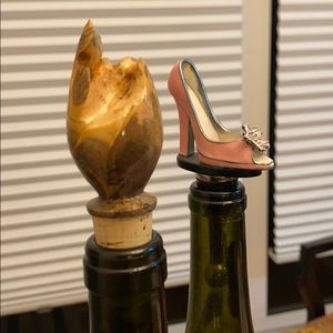 Other - Wine toppers with a wine topper holder